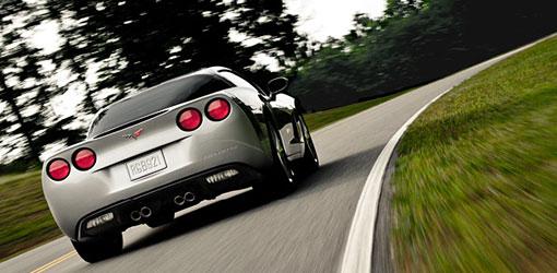 Corvette Driving