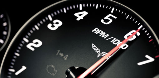 Corvette Speedometer